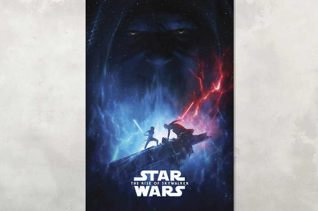 New Rise of Skywalker Movie Poster and Poster Clip Bundle available!