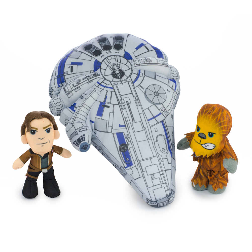 Solo: ASWS Millennium Falcon Plush Toy Play Set 2
