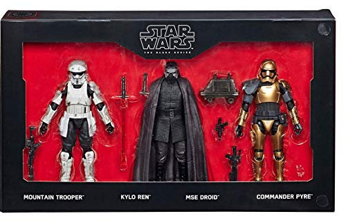 New Galaxy's Edge Black Series First Order Figure 4-Pack available!