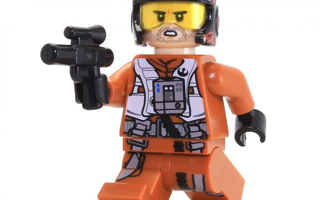 New Rise of Skywalker Poe Dameron Lego Mini Figure available!