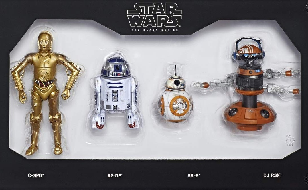 New Star Wars Galaxy's Edge Black Series Droid Depot Figure 4-Pack available!