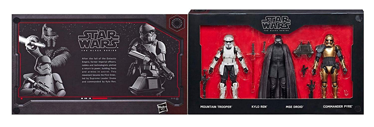 SW Galaxy's Edge Black Series First Order Figure 4-Pack 1