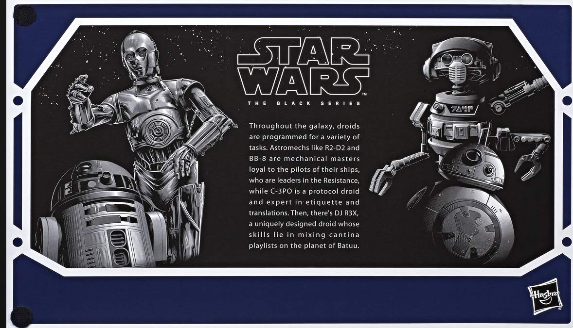 SW Galaxy's Edge Black Series Droid Depot Figure 4-Pack 4