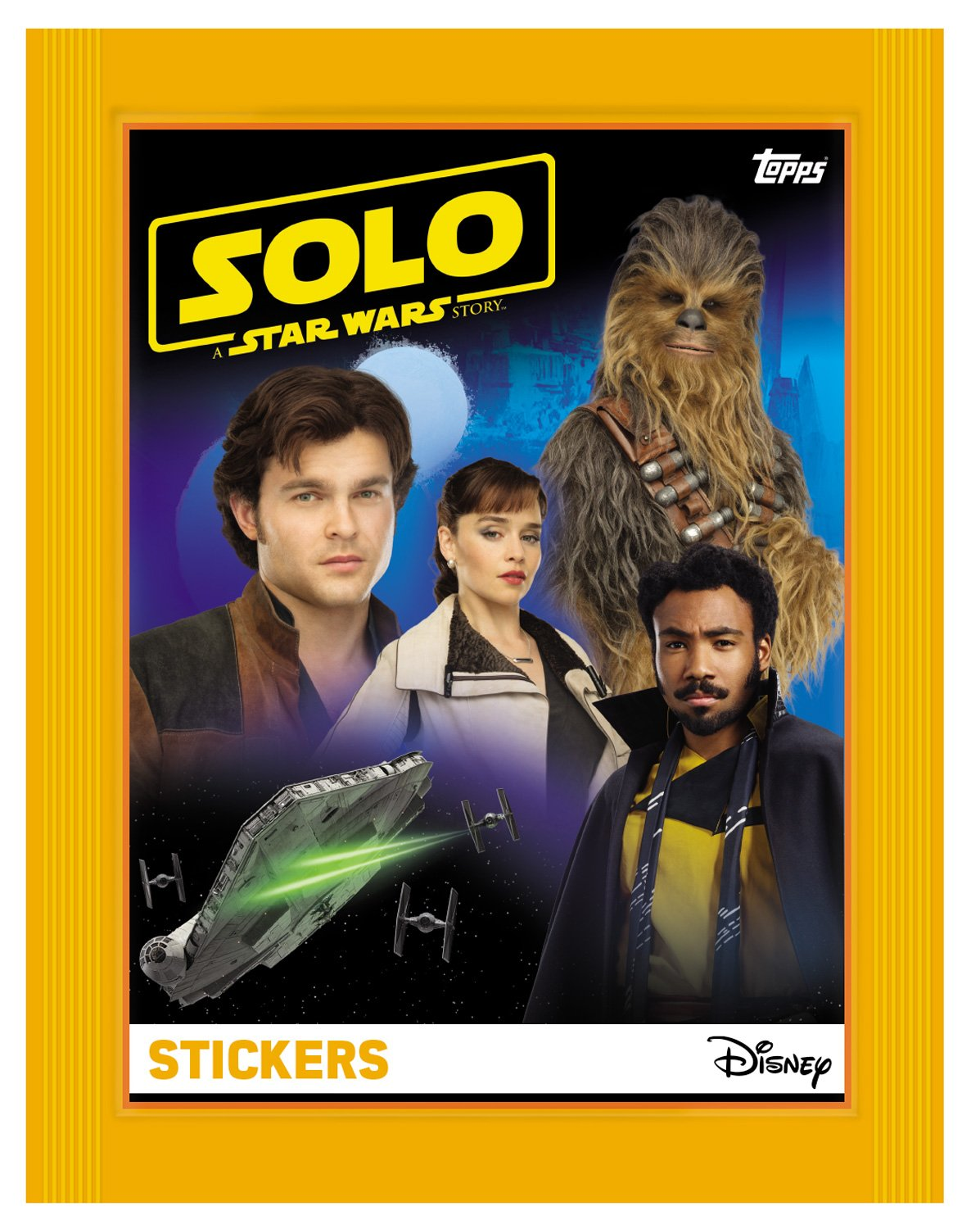 Solo: ASWS Topps Sticker Collection Pack 2