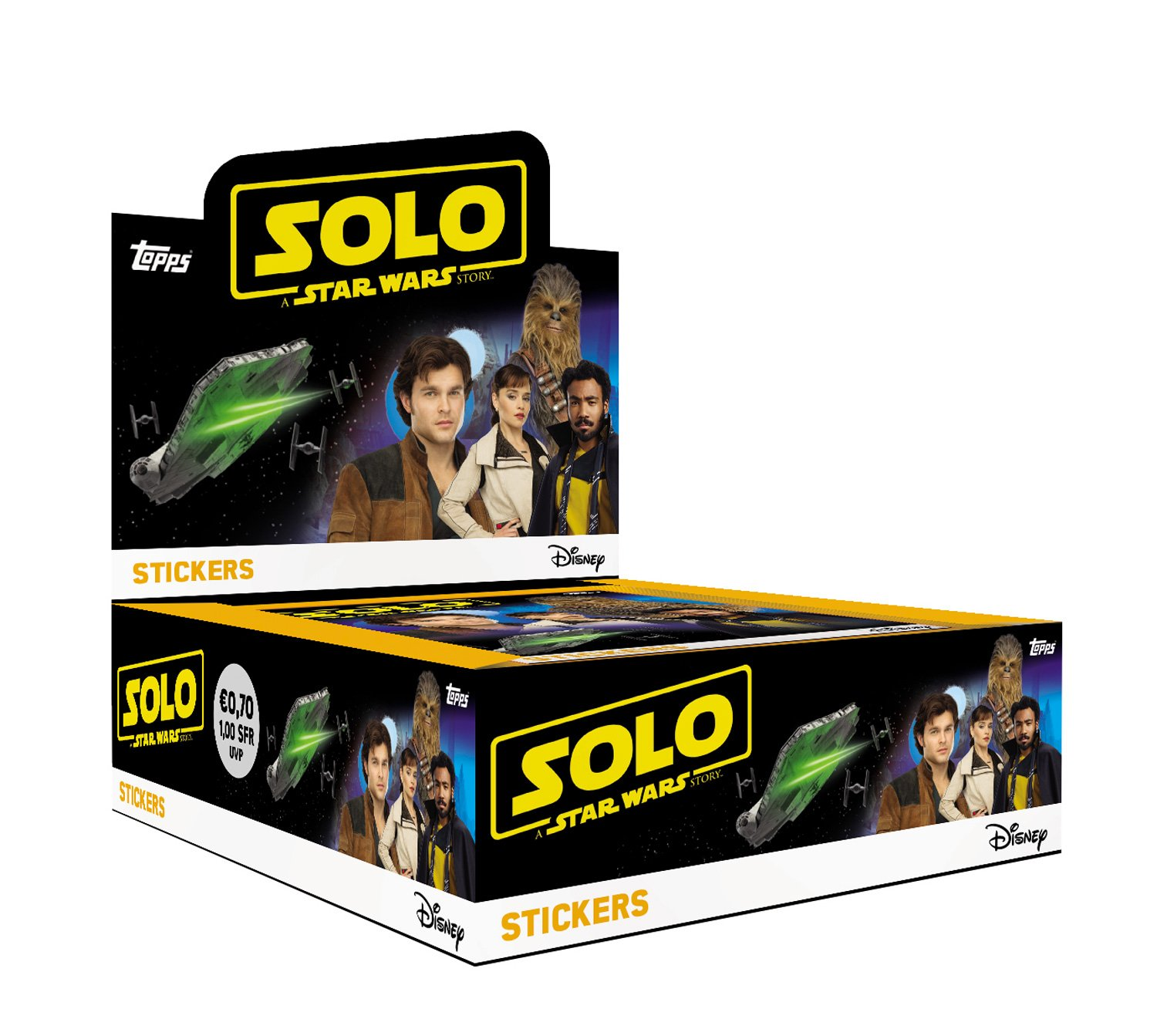 Solo: ASWS Topps Sticker Collection Pack 1