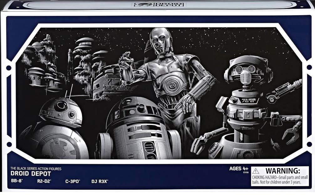 SW Galaxy's Edge Black Series Droid Depot Figure 4-Pack 2