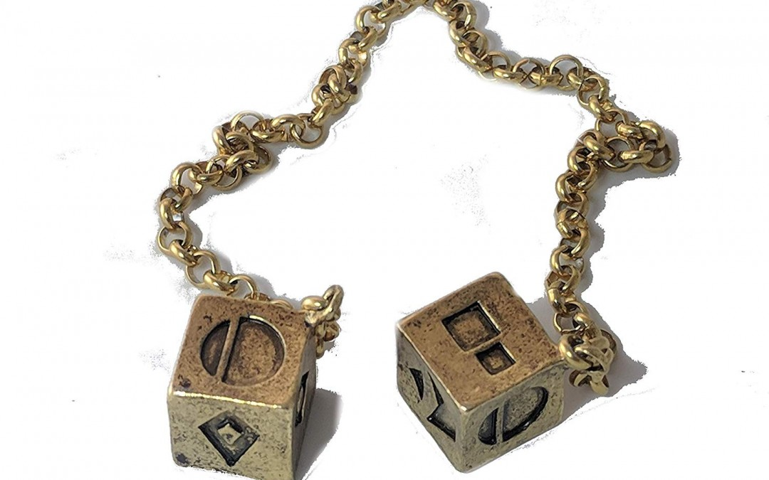New Solo Movie Gold Plated Smuggler's Dice available!