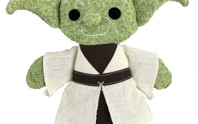 New Galaxy's Edge Yoda Plush Figure now available!