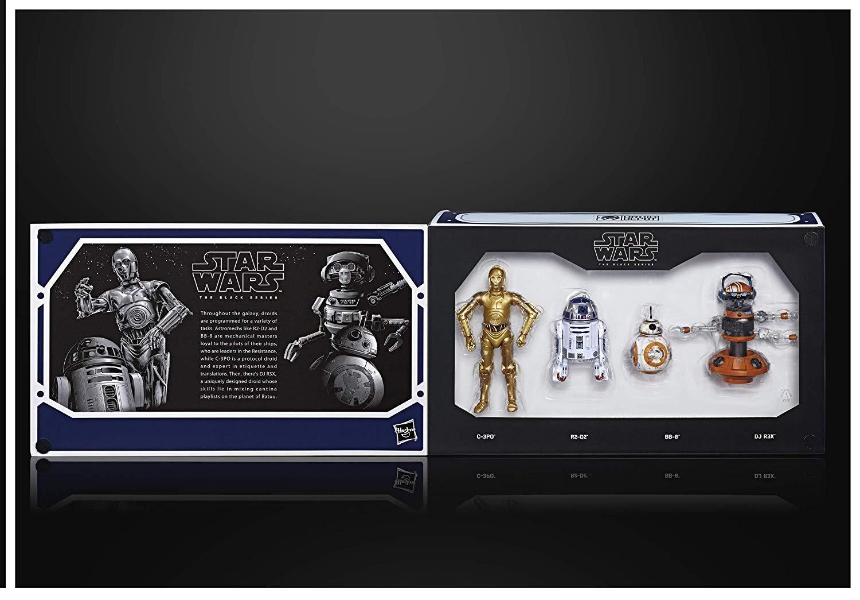 SW Galaxy's Edge Black Series Droid Depot Figure 4-Pack 1