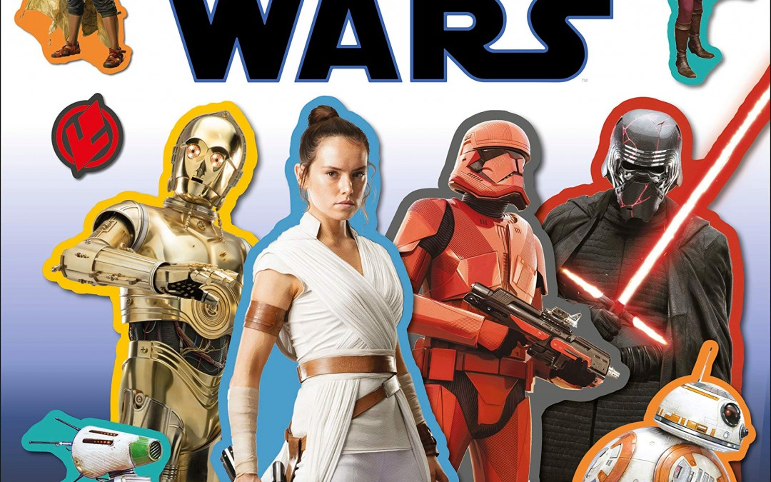 New Rise of Skywalker Sticker Adventures Book available for pre-order!