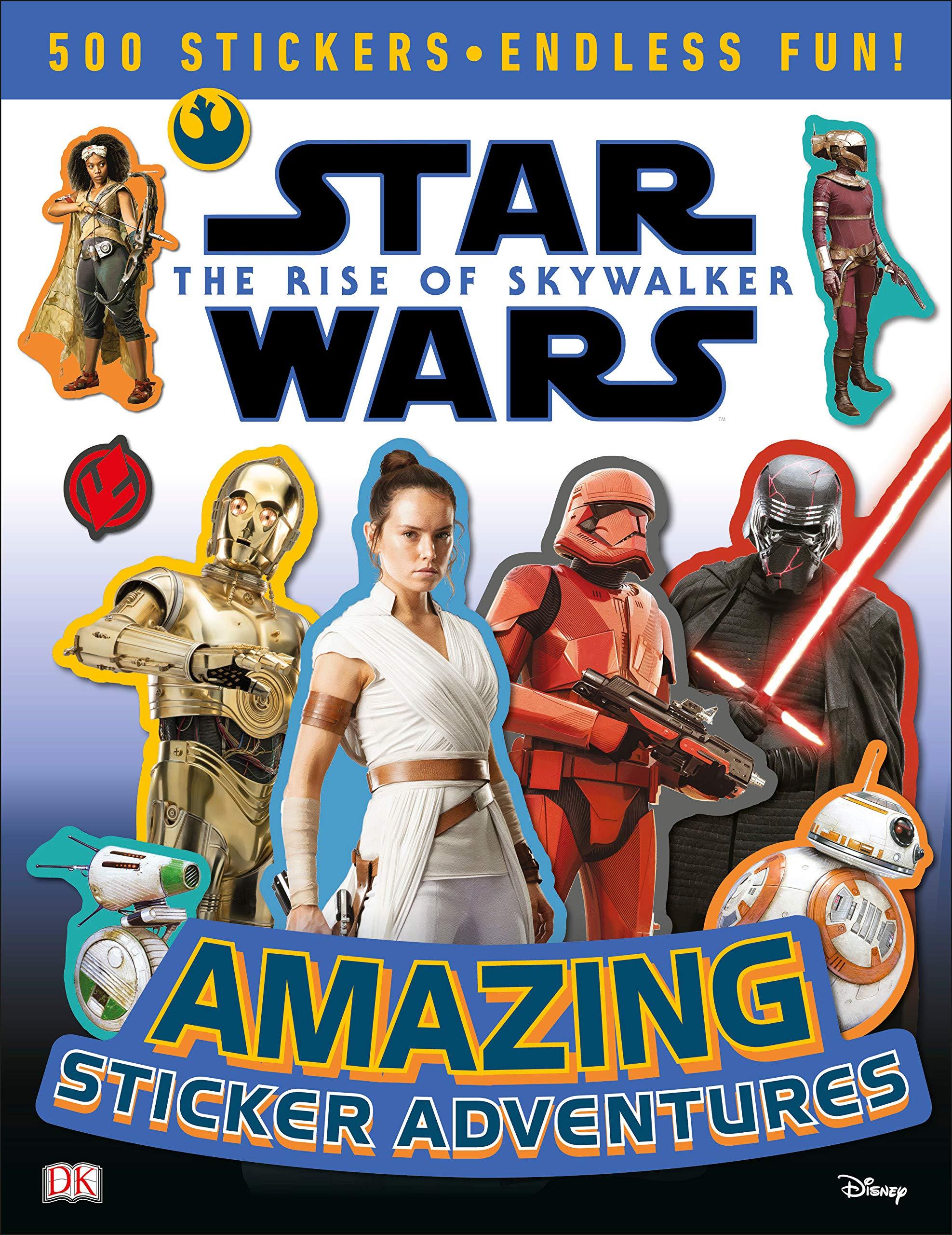 TROS Sticker Adventures Book