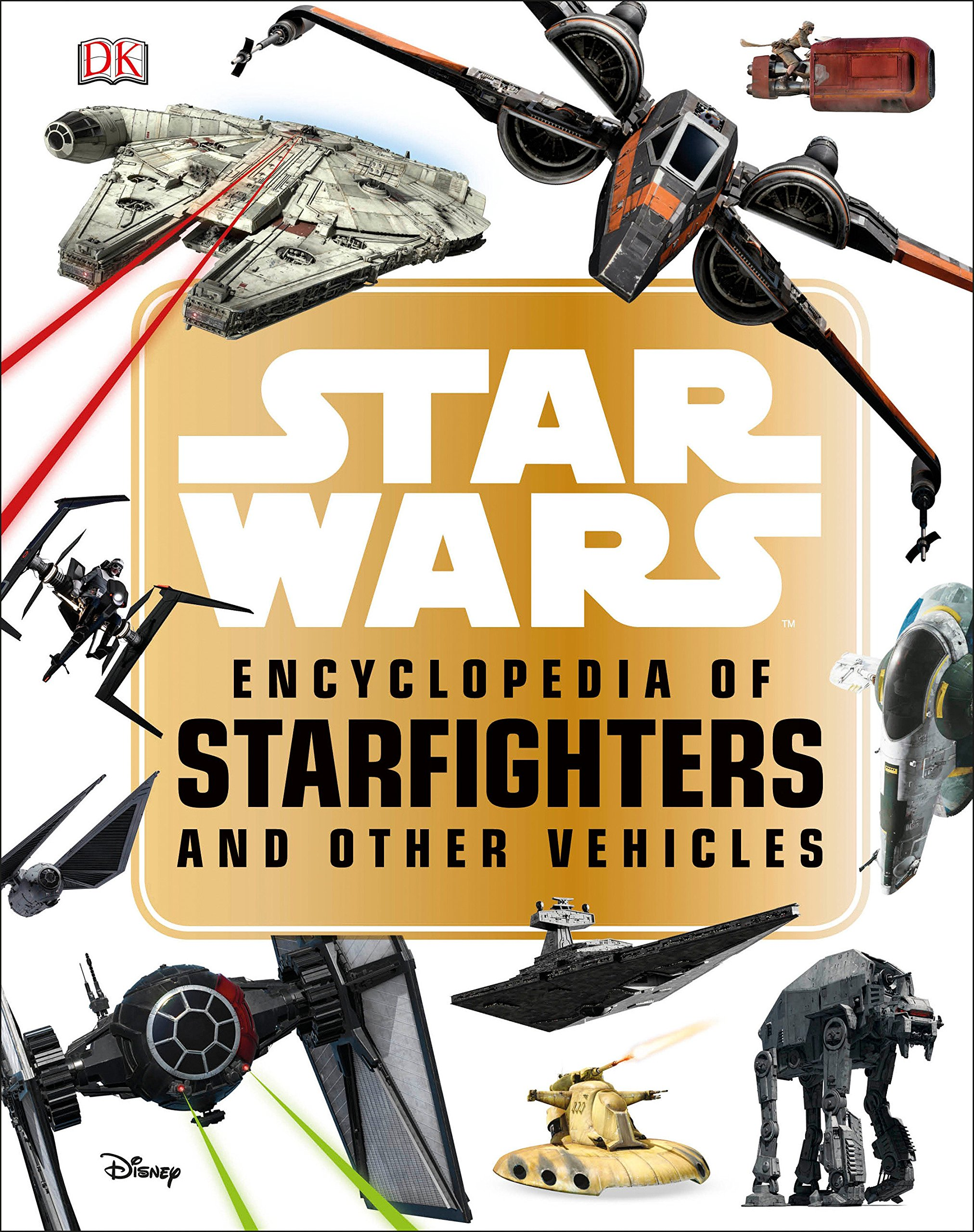 SW Encyclopedia of Starfighters and Other Vehicles Book 1
