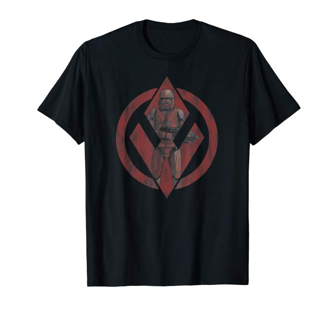 TROS FO Sith Trooper Logo T-Shirt