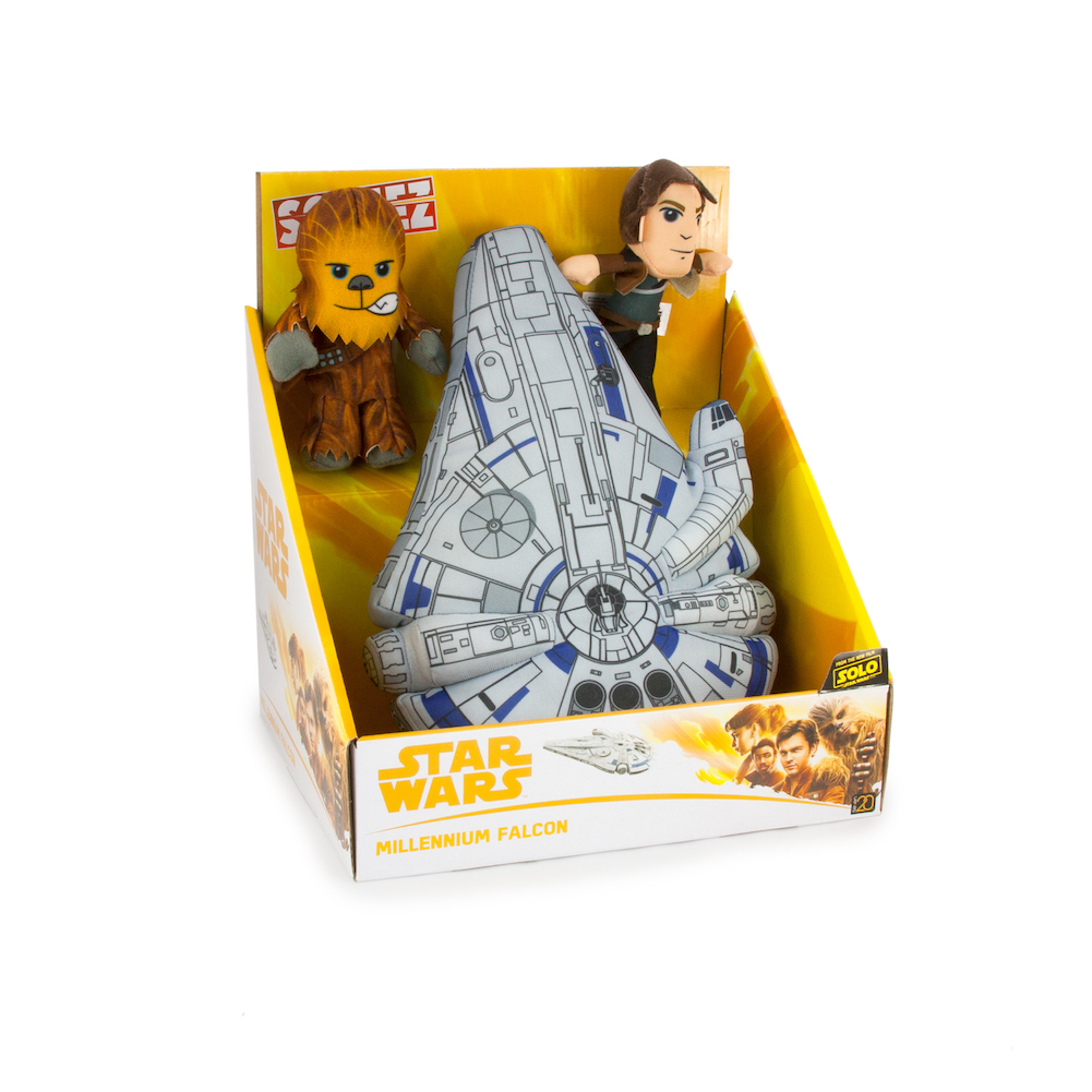 Solo: ASWS Millennium Falcon Plush Toy Play Set 1