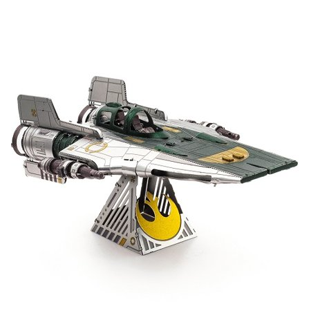 TROS Resistance A-Wing Fighter Metal Model Kit 1