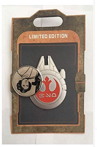 SW GE Princess Leia Carrie Fisher Tribute Pin 1