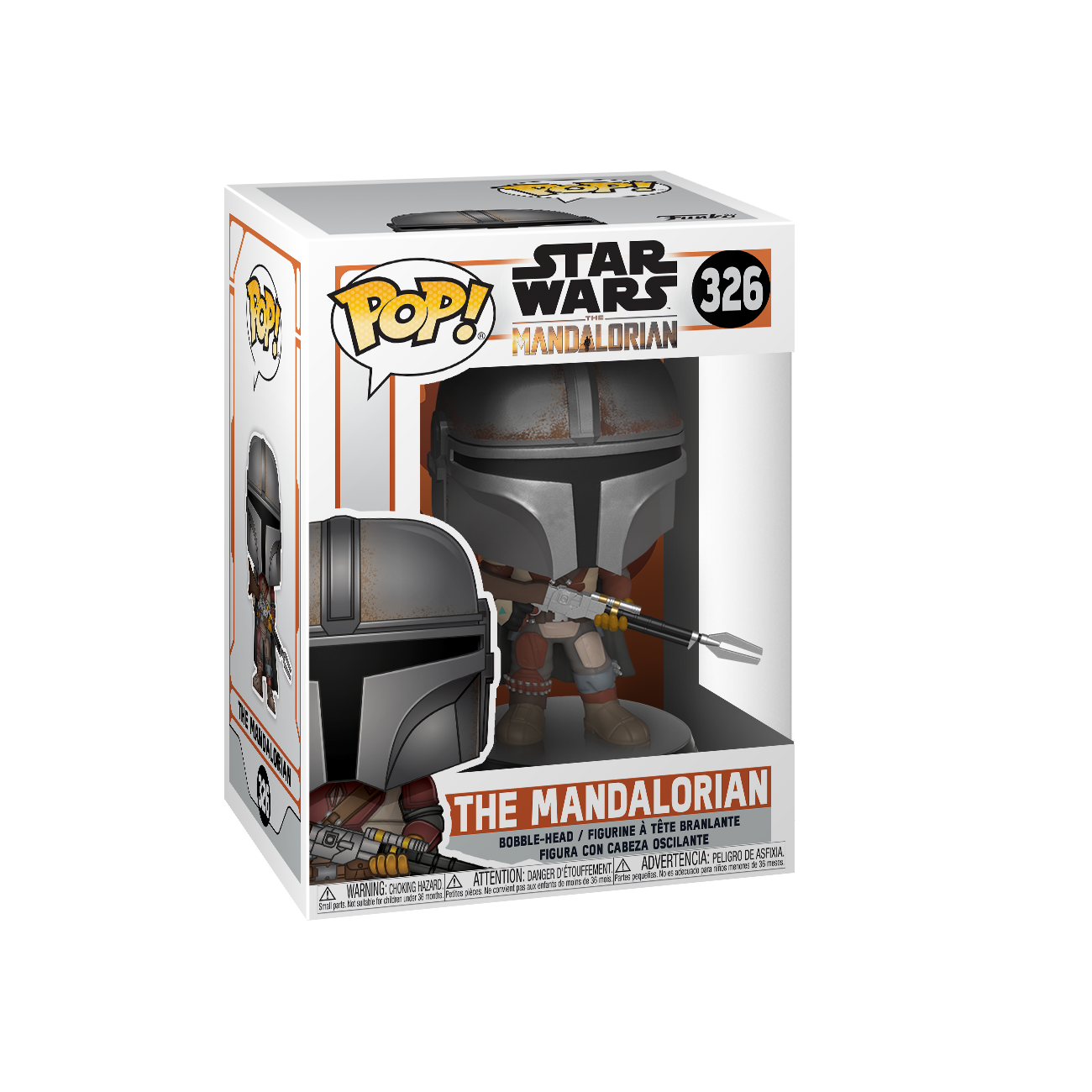 TM The Mandalorian Funko Pop! Bobble Head Toy 1