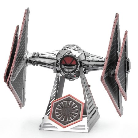 New Rise of Skywalker Sith Tie Fighter 3D Metal Model Kit available!