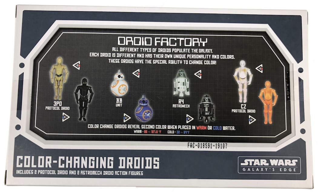 SW GE Color-Changing Droids Figure 4-Pack 2