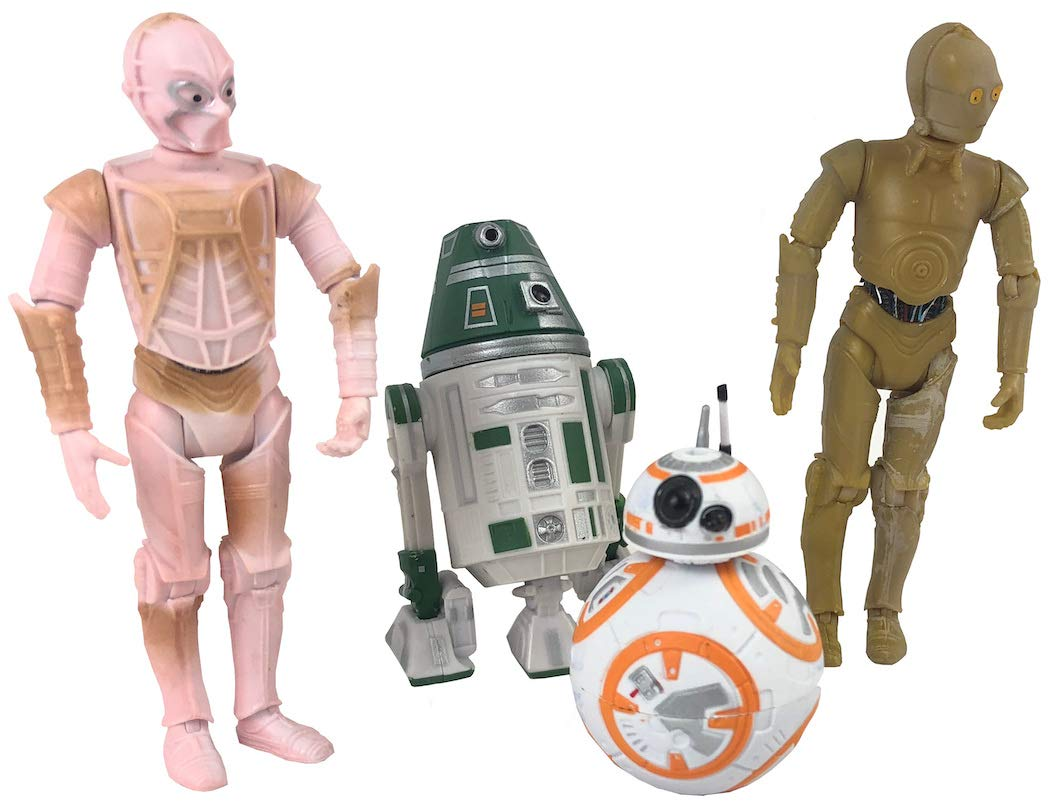 SW GE Color-Changing Droids Figure 4-Pack 3