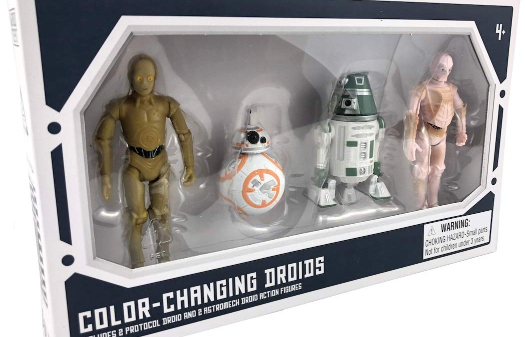 New Galaxy's Edge Color-Changing Droids Figure 4-Pack available!