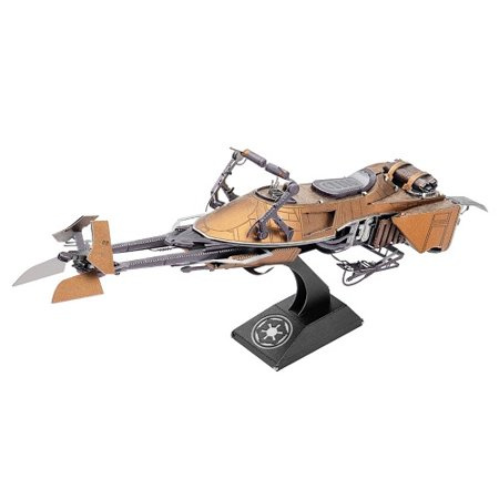 New Rise of Skywalker Speeder Bike 3D Metal Model Kit available!