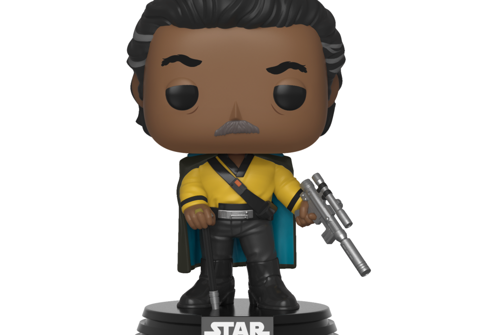 New Rise of Skywalker Lando Calrissian Bobble Head Toy available!