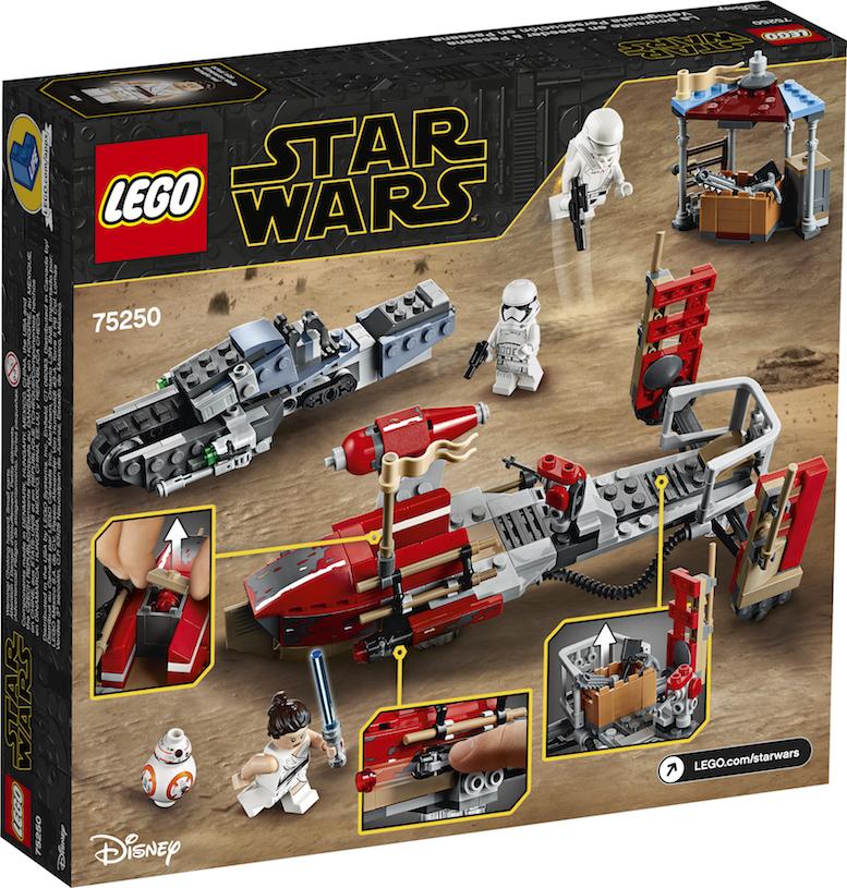 TROS Pasaana Speeder Chase Lego Set 2