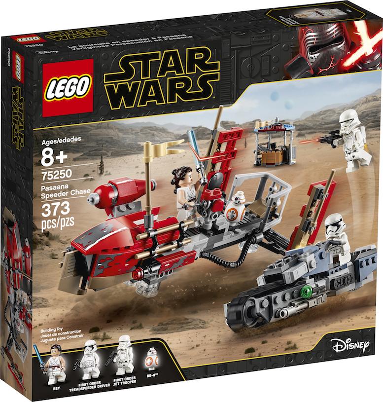 TROS Pasaana Speeder Chase Lego Set 1