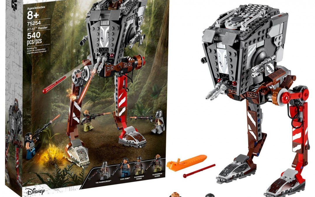 New The Mandalorian AT-ST Raider Lego Set available now!