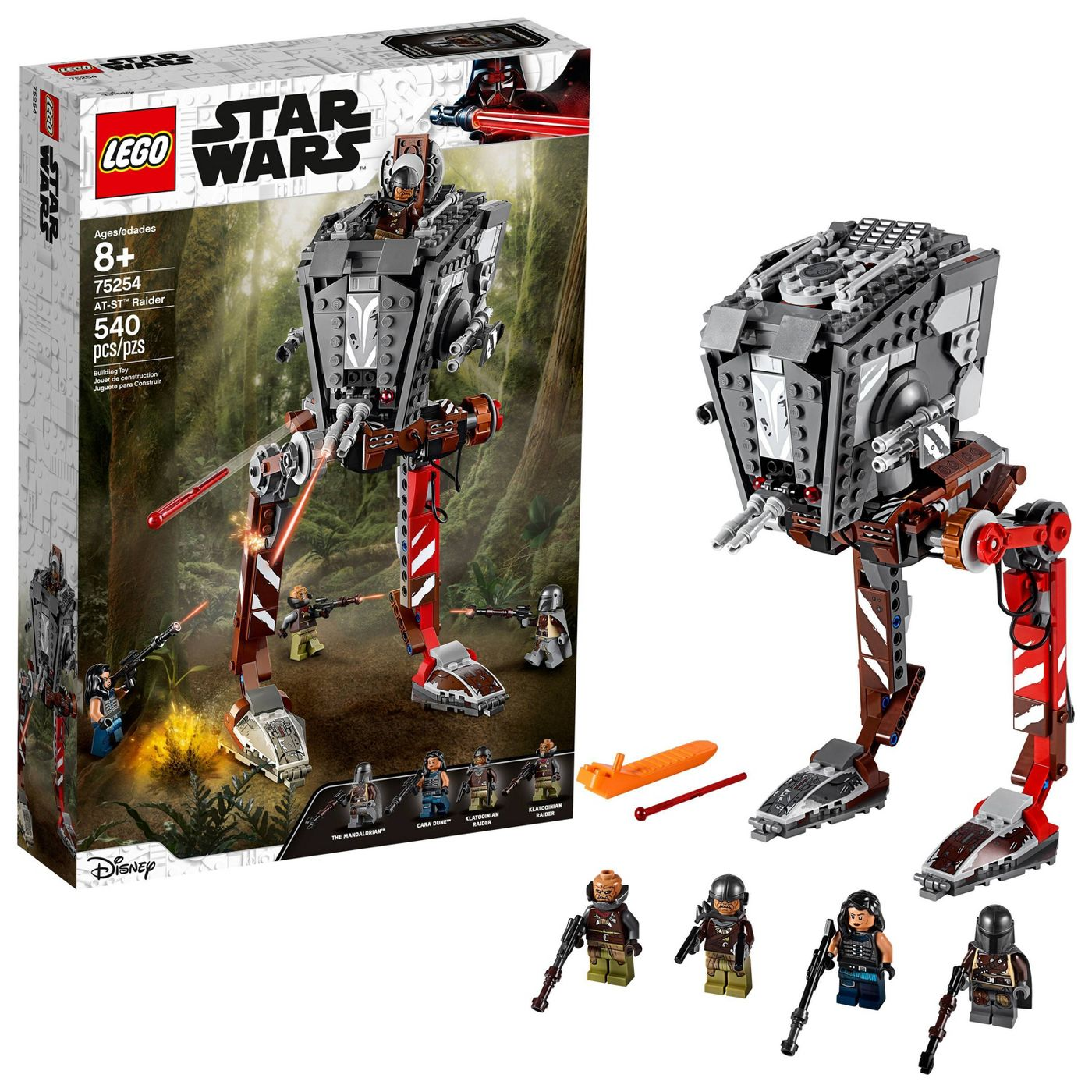 TM AT-ST Raider Walker Lego Set 4
