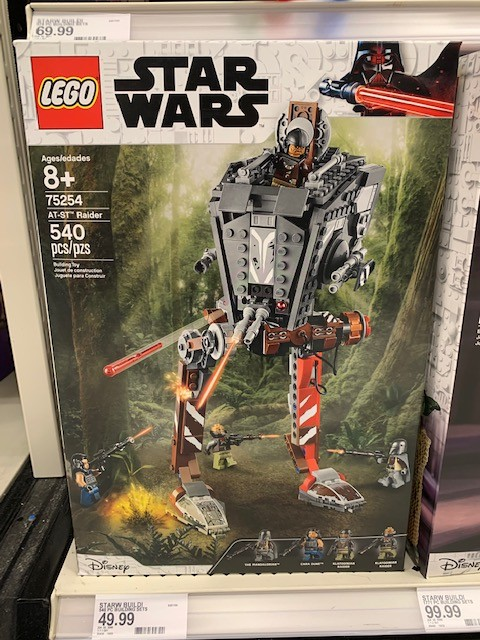 TM AT-ST Raider Walker Lego Set 5