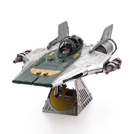 New Rise of Skywalker Resistance A-Wing Fighter Metal Model Kit available!