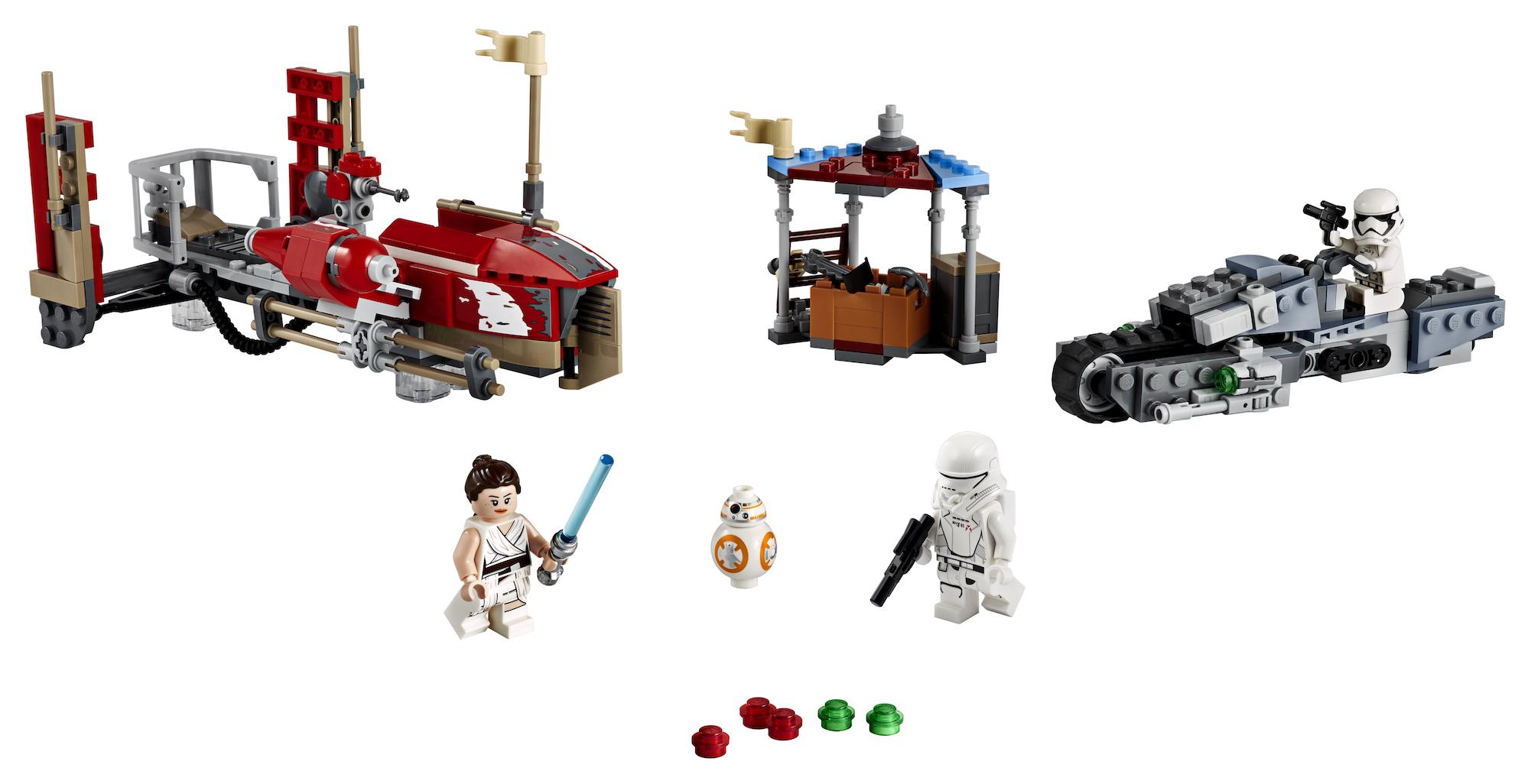 TROS Pasaana Speeder Chase Lego Set 3