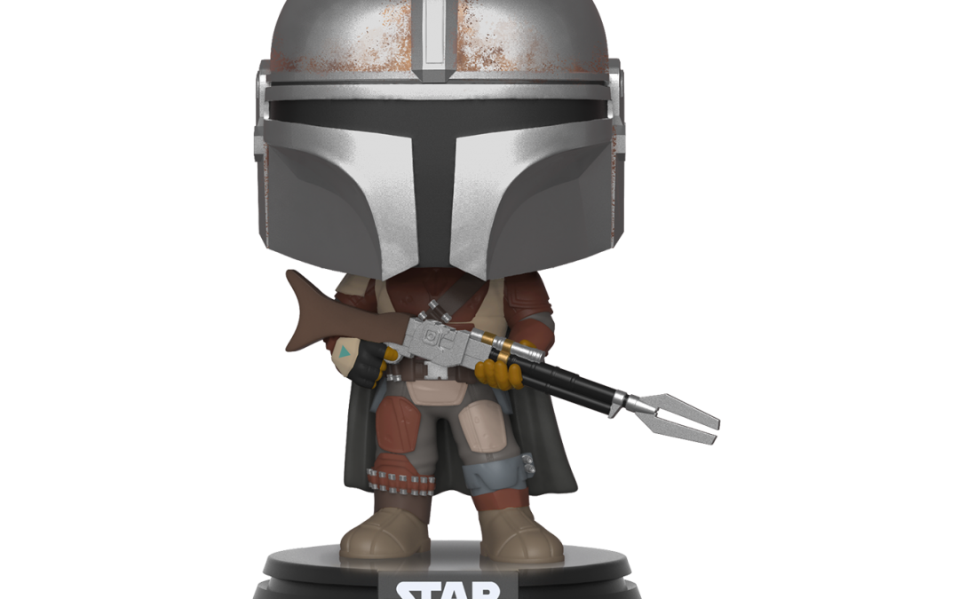 New The Mandalorian Funko Pop! Bobble Head Toy now in stock!