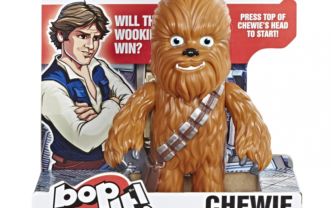 New Star Wars Chewie Electronic Bop It! Game available!