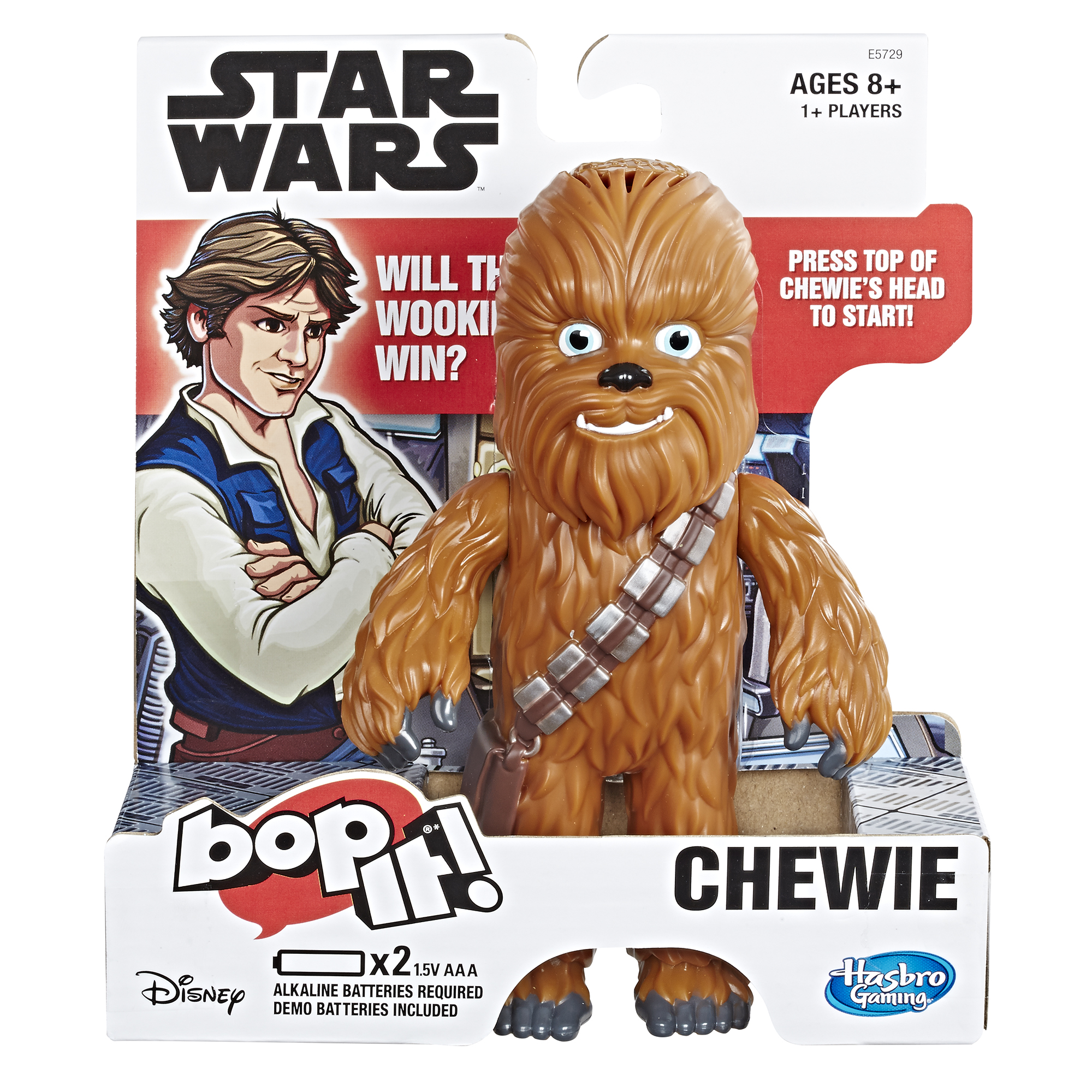 SW Chewie Electronic Bop It! Game 1