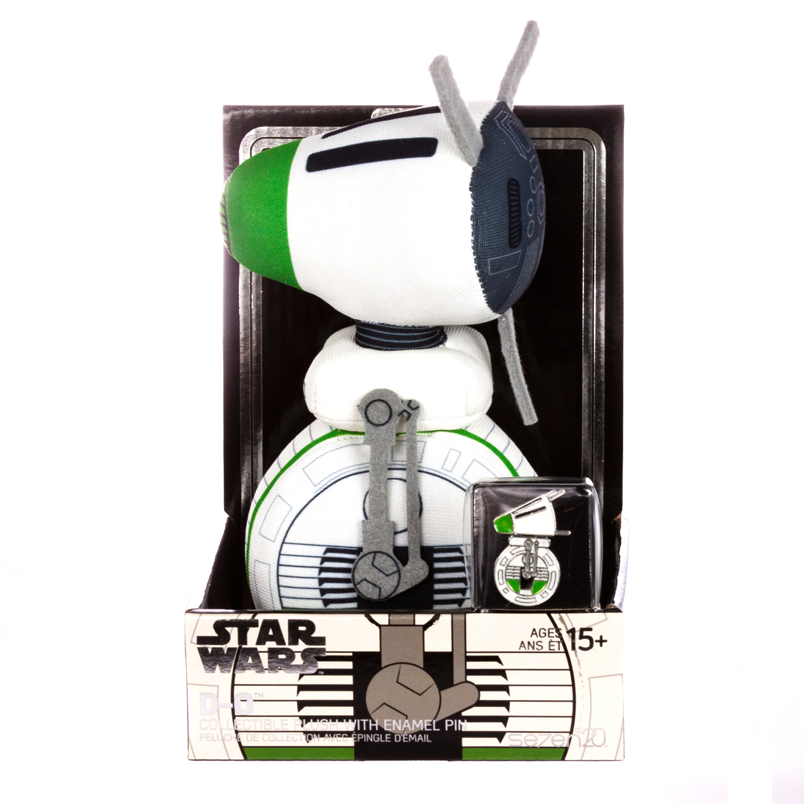 TROS D-O Plush Toy and Pin Set 1