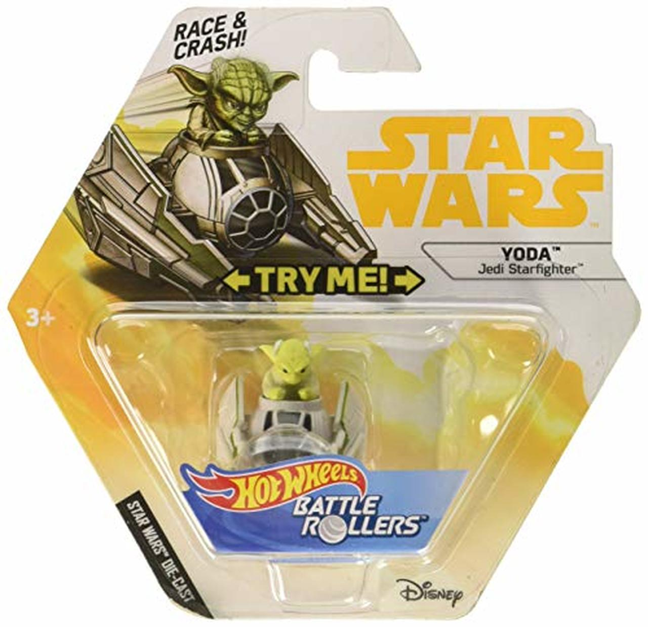 Solo: ASWS HW Yoda & Starfighter Battle Rollers Vehicle Toy