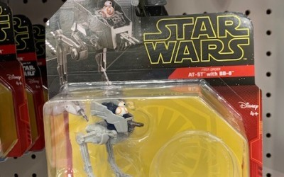 New Rise of Skywalker AT-ST with BB-8 Starship Toy available!