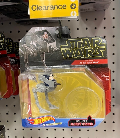New Rise Of Skywalker At St With Bb 8 Starship Toy Available