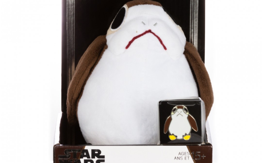 New Rise of Skywalker Porg Plush Toy & Pin Set available for pre-order!