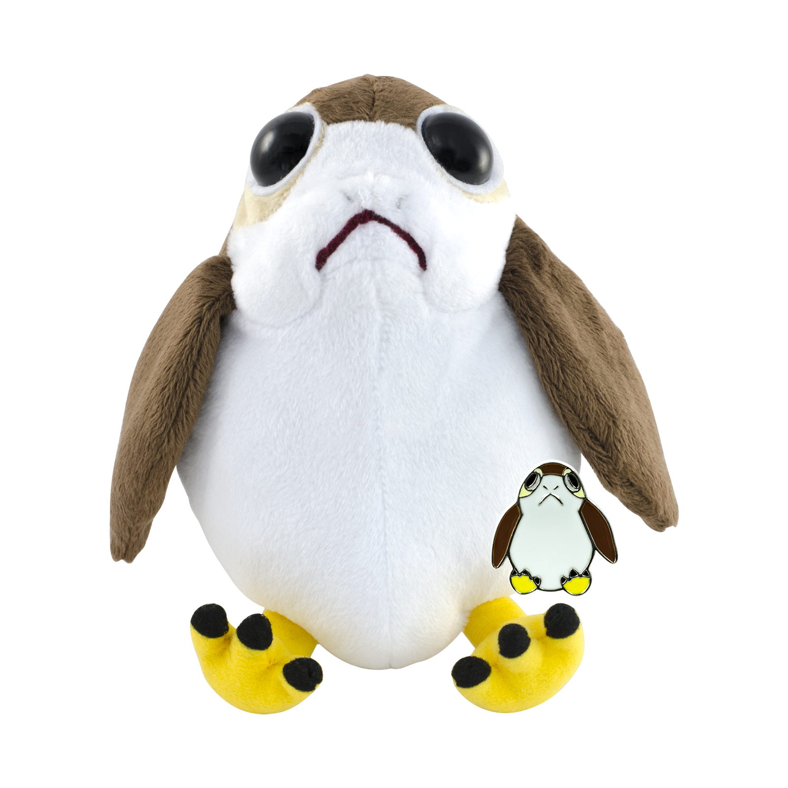 TROS Porg Plush Toy & Pin Set 2