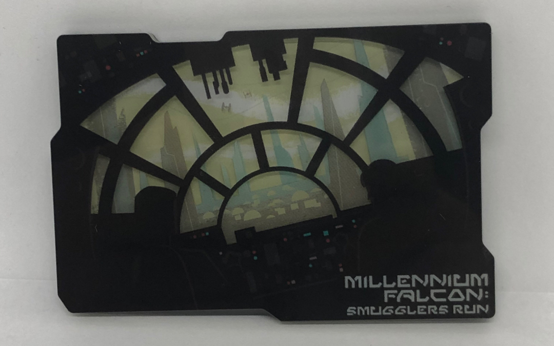 New Galaxy's Edge Black Spire Outpost Smugglers Run Magnet available!