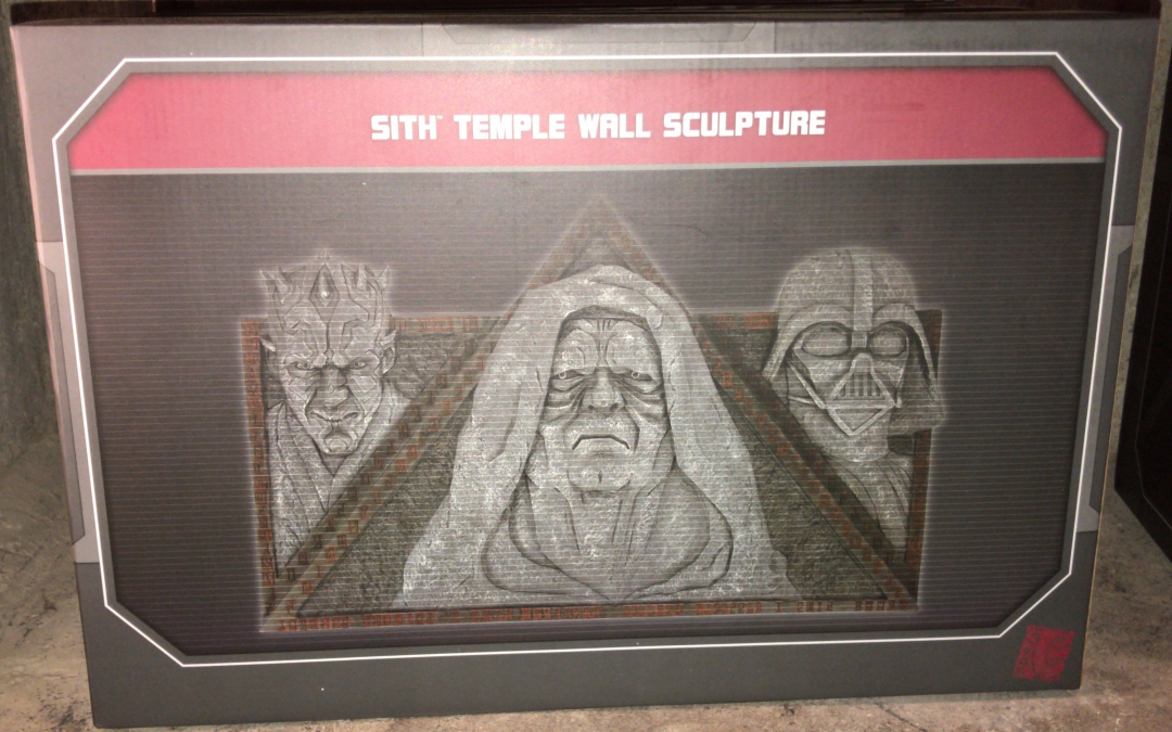 New Galaxy's Edge Sith Temple Wall Sculpture available now!
