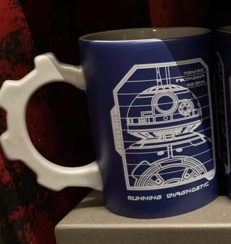 SWGE R2-D2 & BB-8 Schematic Sketch Coffee Mug 2