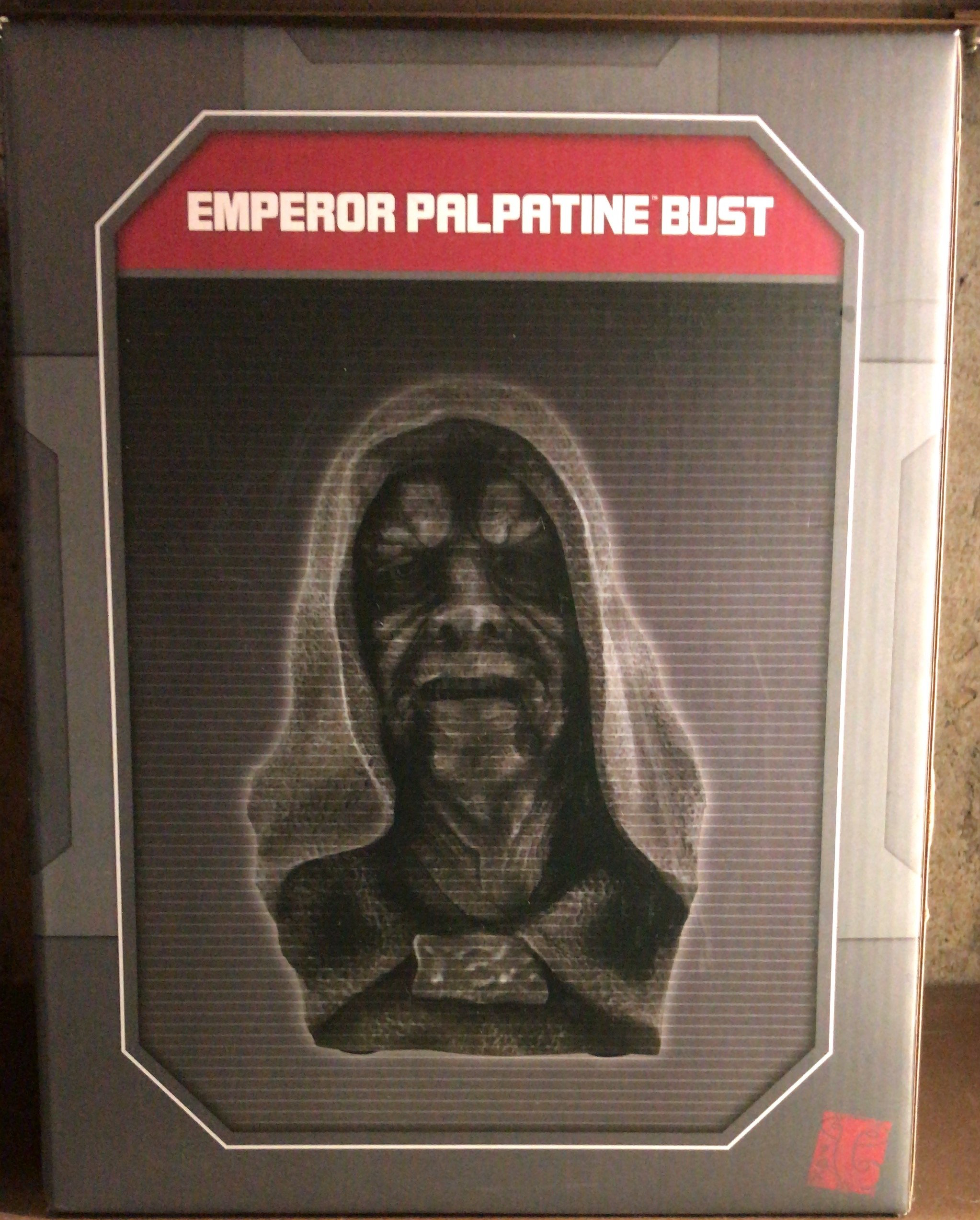 SWGE Emperor Palpatine (Darth Sidious) Antique Bust 1