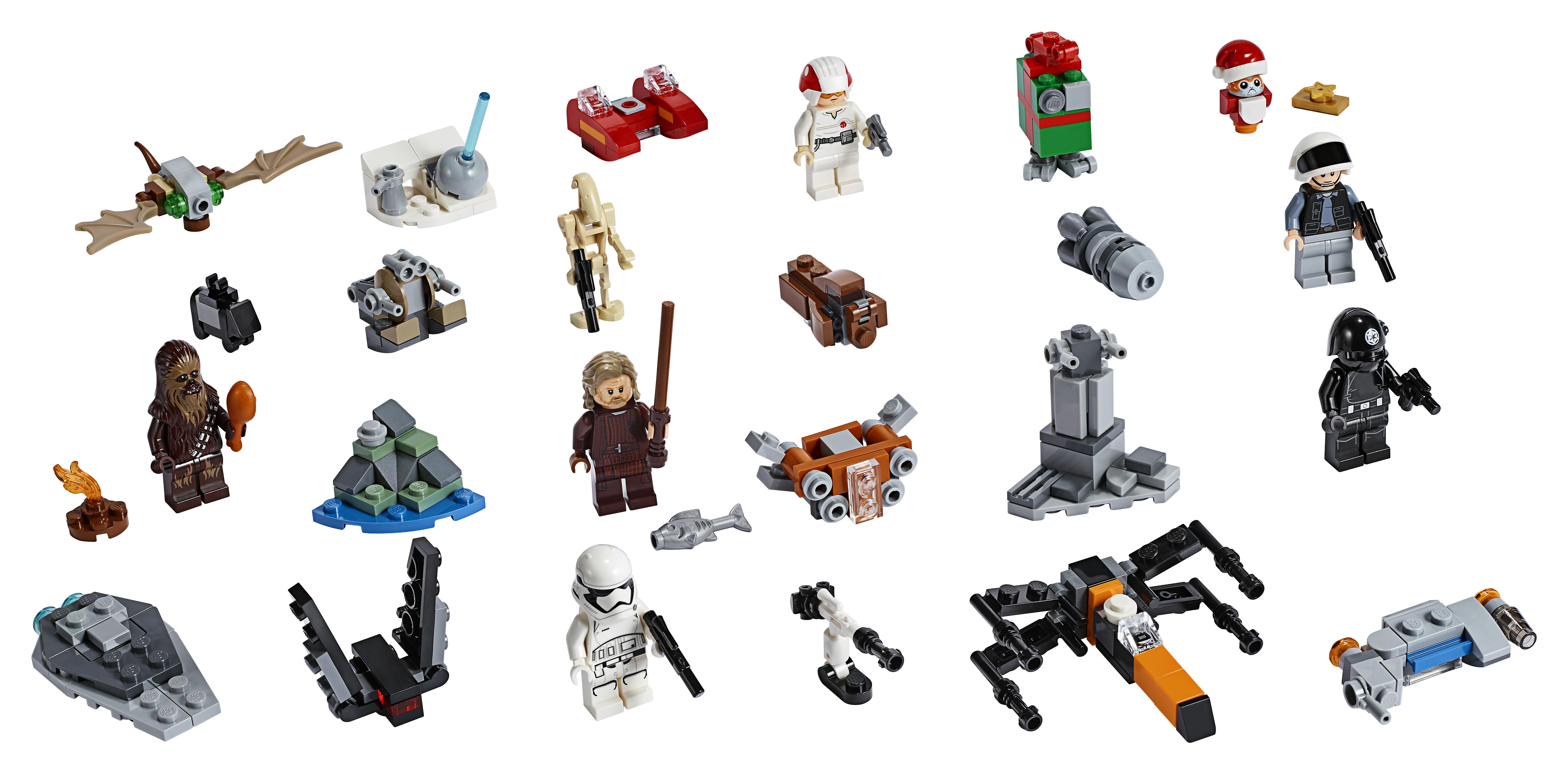 SW 2019 Advent Calendar Holiday Lego Set 3