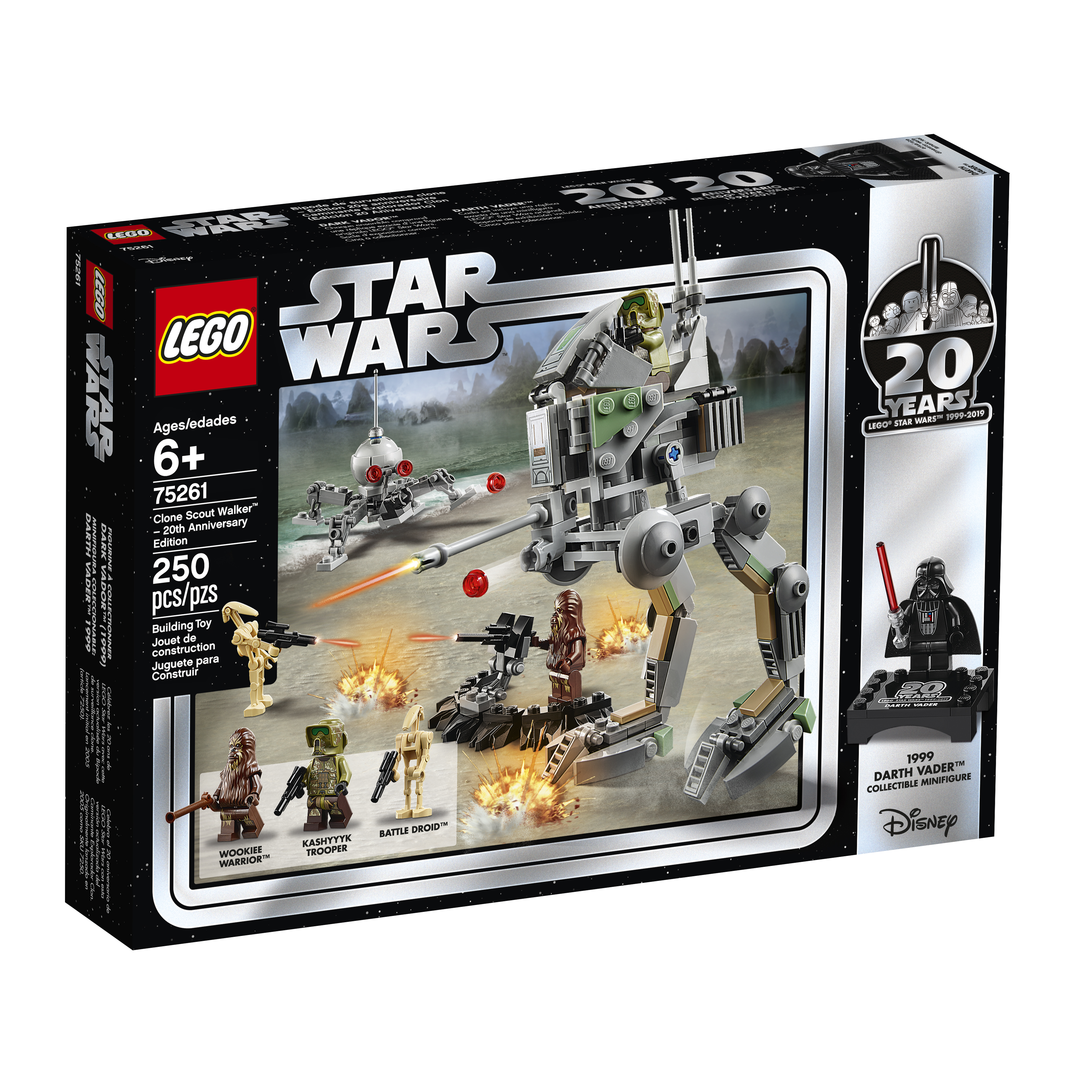 SW 20th Anniversary Edition Clone Scout Walker Lego Set 1