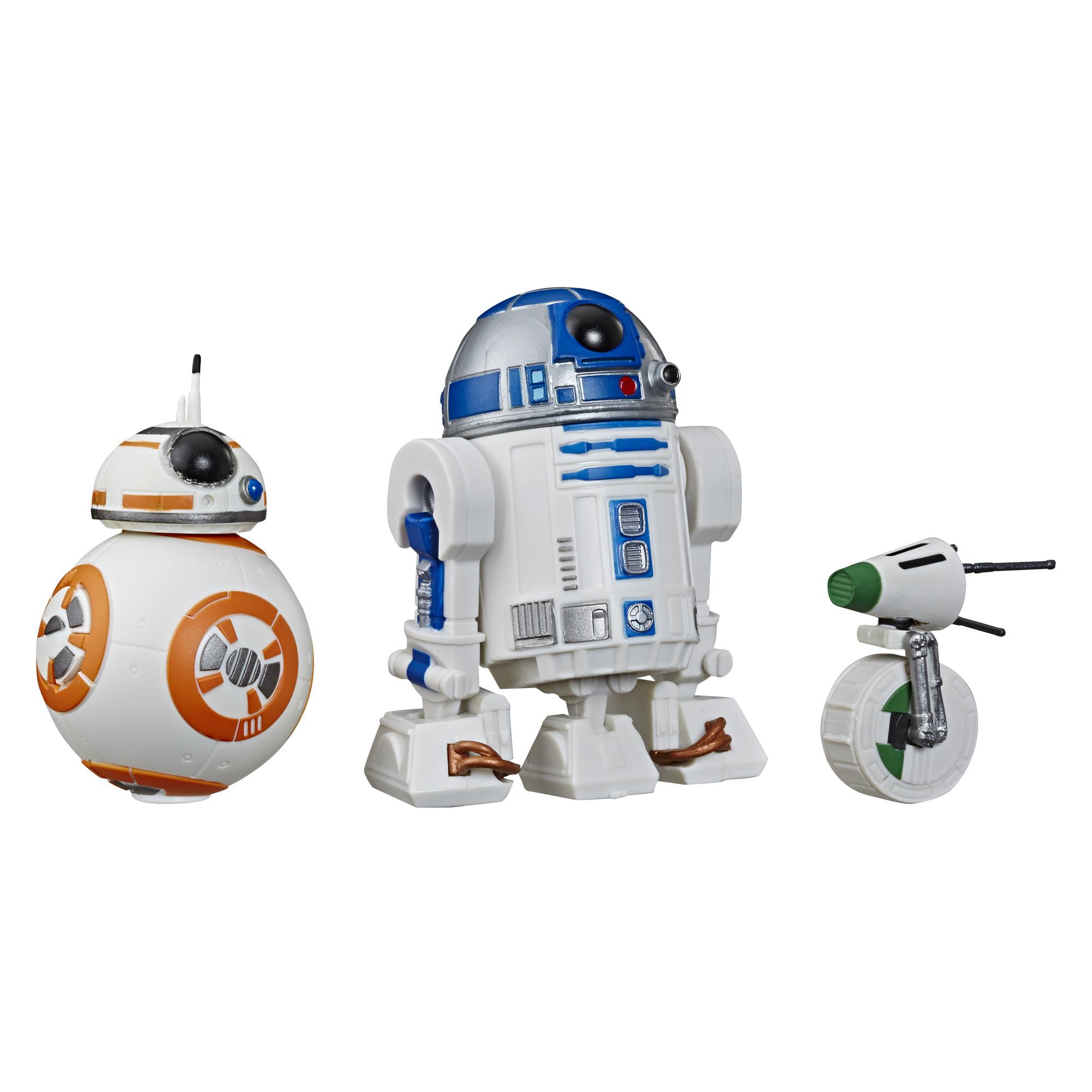 TROS Galaxy of Adventures R2-D2, BB-8, D-O Figure 3-Pack 2